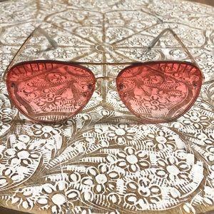 Brand New Unique Statement Aviator Sunglasses